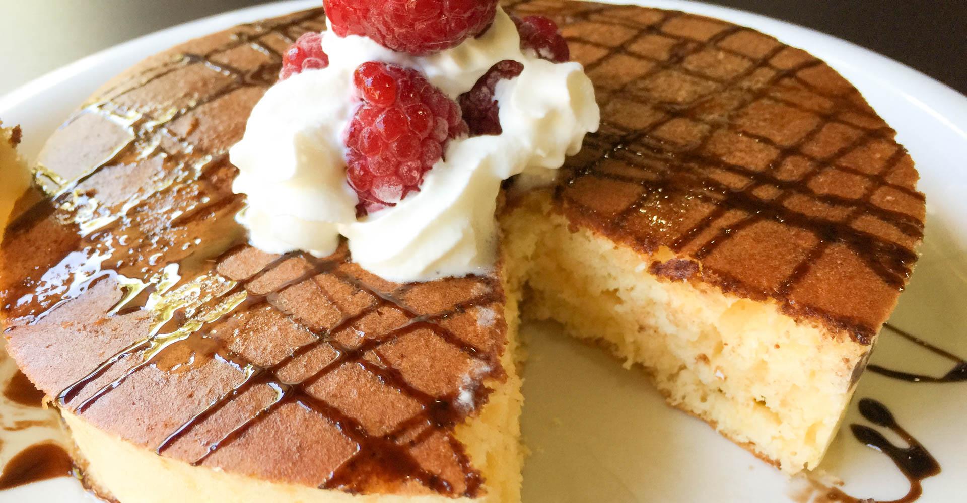 温(ホット)ケーキ